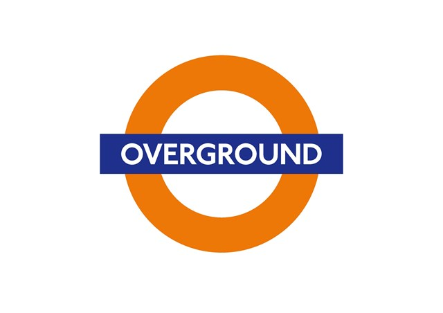 THREE MORE LONDON OVERGROUND STATIONS BECOME STEP-FREE: London Overground roundel