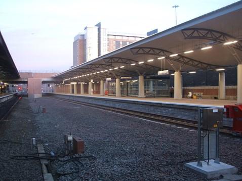 Manchester Airport Third Platform - completed