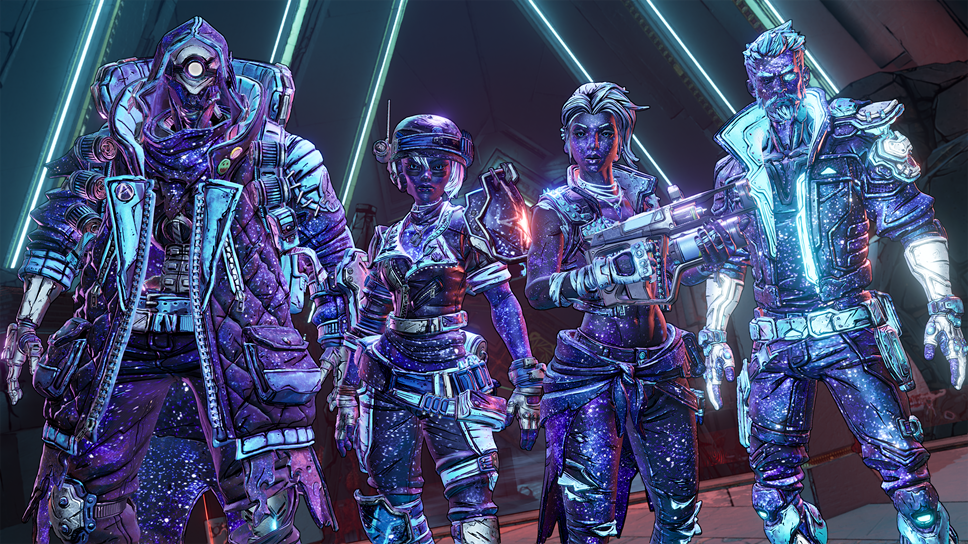 Borderlands® 3's Takedown at the Guardian Breach Available Now: Guardian-Takedown-Customization Group-Shot