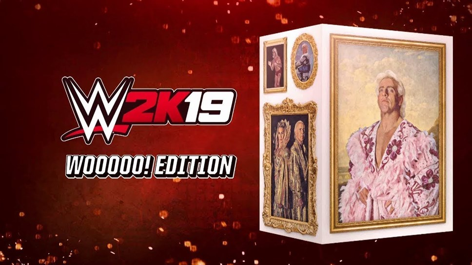 Style, Profile and Celebrate WWE Hall of Famer Ric Flair with the WWE® 2K19 Wooooo! Edition: WWE2K19 Wooooo! Edition Art