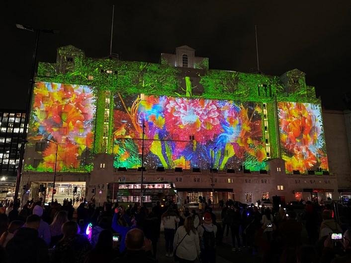 Thousands get back to nature as Light Night Leeds returns: Light Night Leeds 2021