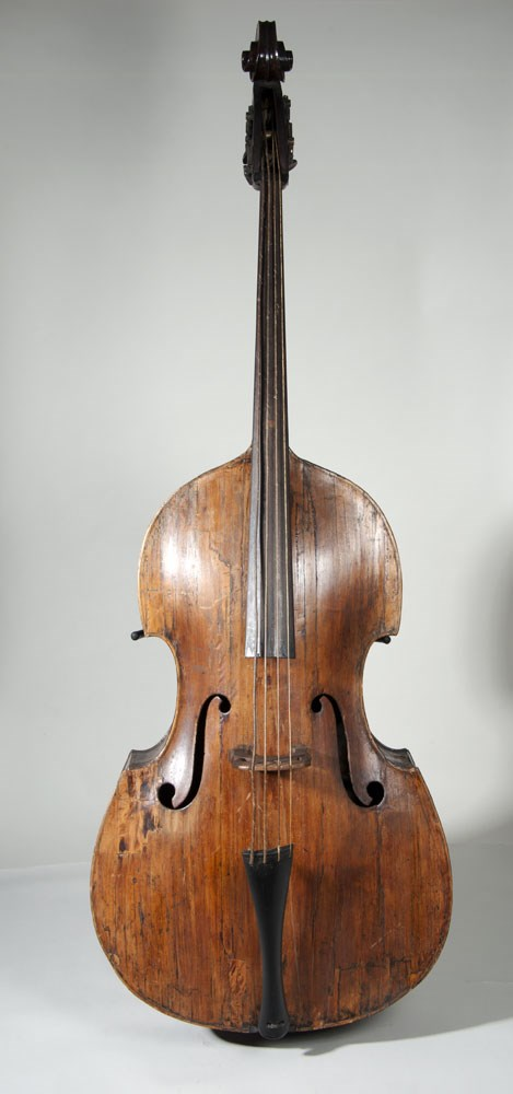 Sounds of Our City: A newly-restored 1850s Dearlove double bass which features in the exhibition.