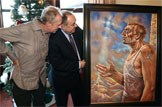 The art of charity: First Minister's 2013 Christmas card