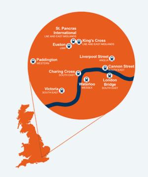 London stations: london 360