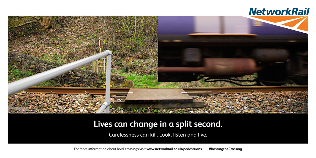 """""""My leg ended up half-a-mile up the track"""" - warning to young adults as new research  highlights they are more likely to dice with death at level crossings: New research reveals lack of knowledge about railway dangers leads to more people taking risks at level crossings"""