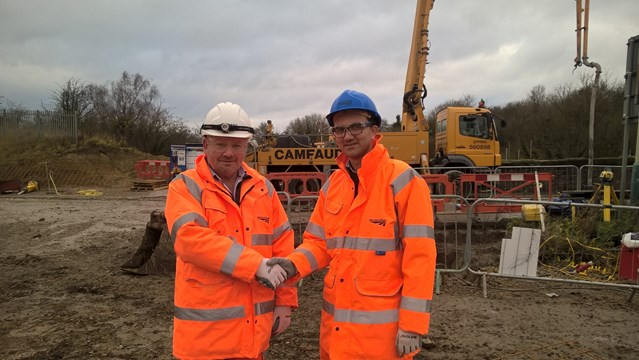 Orange army gear up for biggest ever Christmas upgrade: Dave Kidd with Haris Mirza,