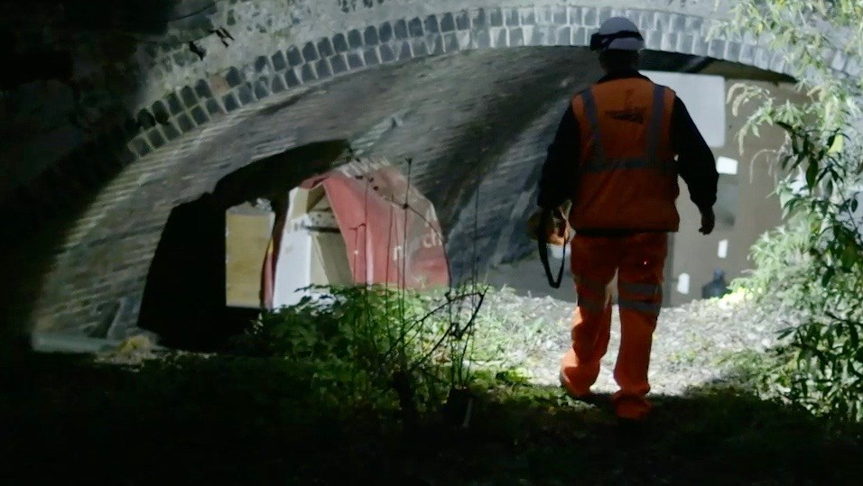 TV documentary shows complexities of homelessness for Network Rail and BTP: The Station Ep 3 - Dennis 2 (1)