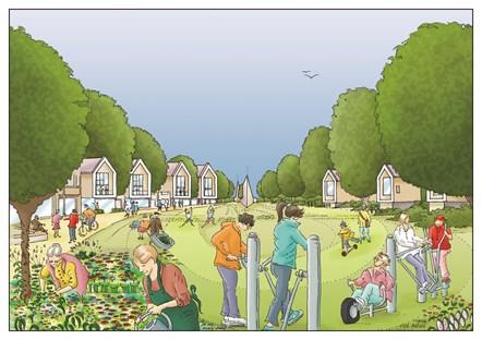 Revised Central Park illustration