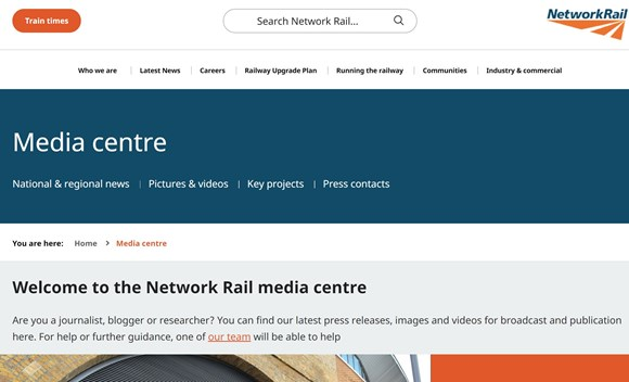 Newsroom - Network Rail