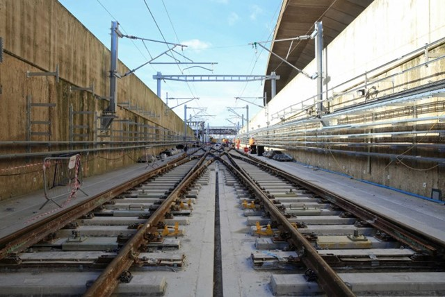 Network Rail completes major rail upgrades for the Elizabeth line: Crossrail milestones completed