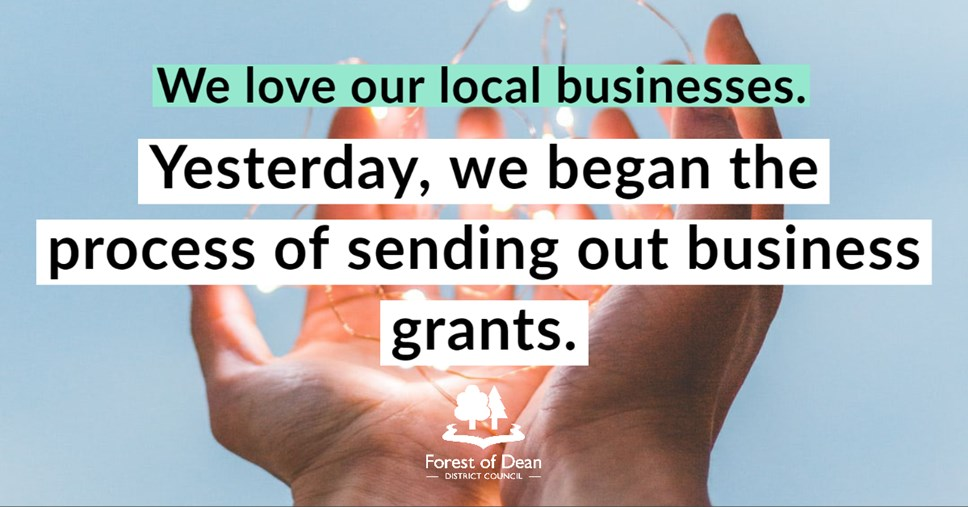More than £10m paid out in grants to Forest of Dean businesses: business-4