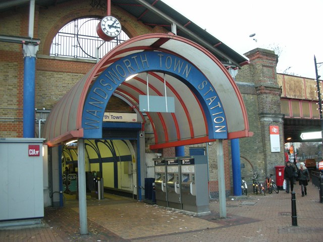 Wandsworth Town - Current Entrance