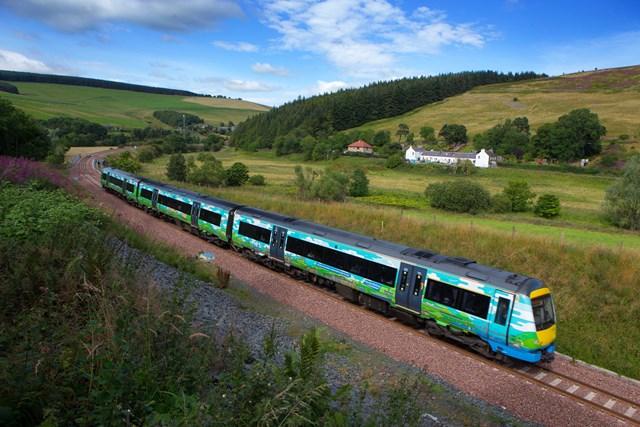 Borders Railway celebrates fifth anniversary: Borders Railway landscape