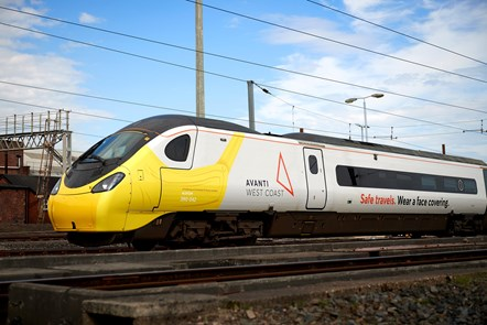 Safe travels & face covering Pendolino 3