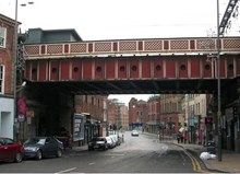 Leeds rail bridge to celebrate city's diversity as part of Railway Upgrade Plan: LowerBriggatebridge