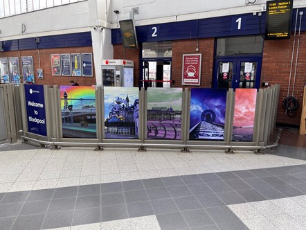 Blackpool North Gateline Artwork  (2)