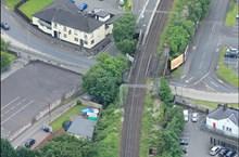 Bank street bridge aerial