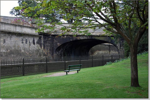 Proposed new fencing for Sydney Gardens - Georgian style