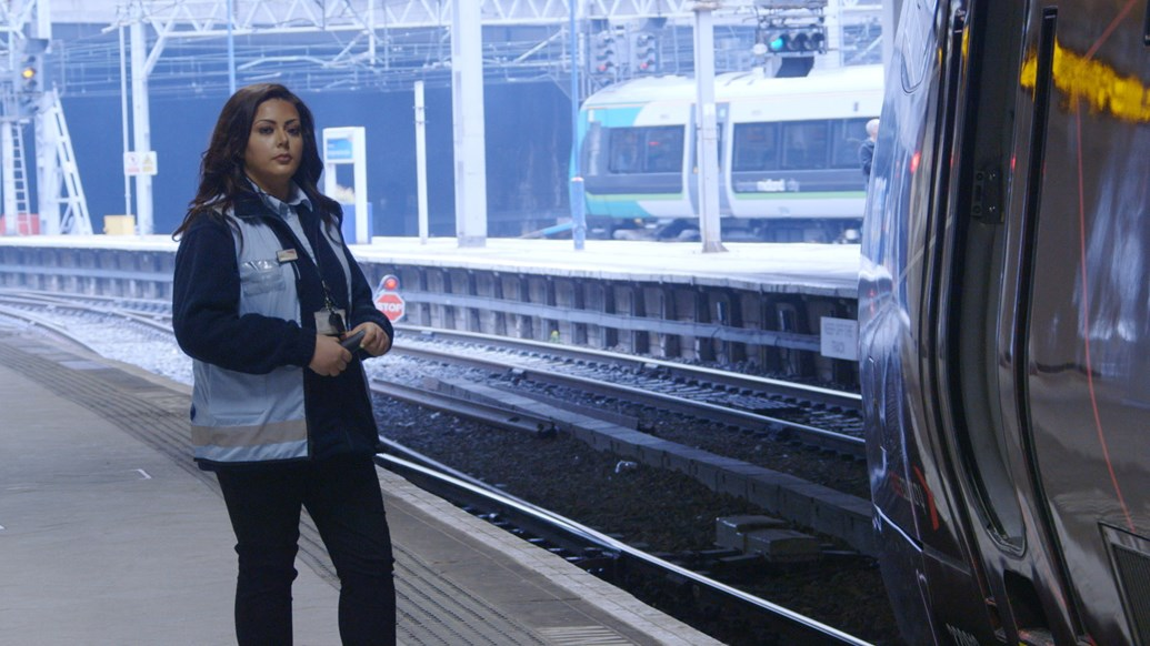 Railway heroes save over 1,000 lives on Britain's rail network in just a year: Neena Naylor, Network Rail train despatcher featured in Samaritans film-2