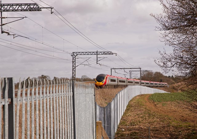 Improved trackside access points means quicker responses to railway faults: West Coast main line fencing