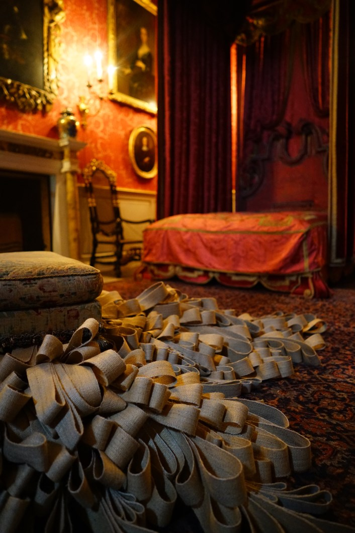 Below the Salt: Work by artist Catherine Bertola created for Below the Salt at Temple Newsam House.