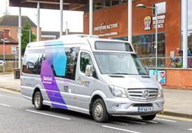 ArrivaClick launches in Watford: ArrivaClick, Watford-2