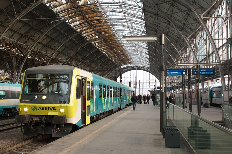 Arriva secures its biggest rail contract yet in the Czech Republic: Arriva Czech Republic 1