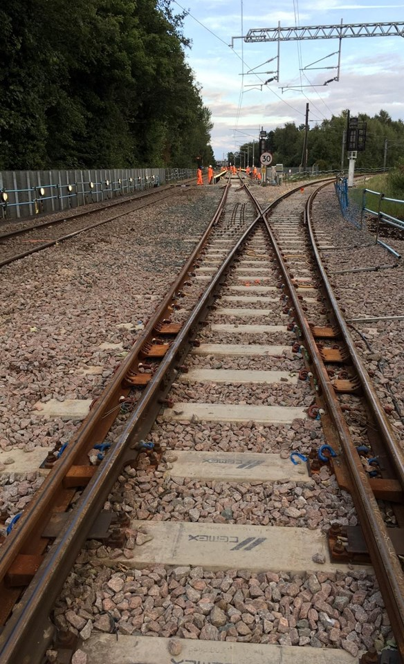 More reliable railway for Anglia passengers following Bank Holiday upgrades: Kings Lynn New siding 31 August 2020 (3)