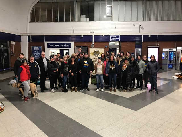 Blackpool North charity sleep out