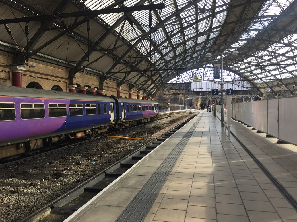 Two platforms reopen at Liverpool Lime Street as station upgrade continues: Reopened platforms 1 and 2 at Liverpool Lime Street