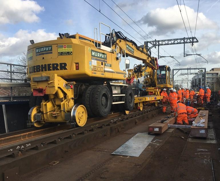 UPDATE: Gospel Oak to Barking line freight derailment – Line to reopen Wednesday 19 February