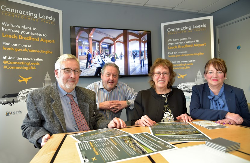 Images from Leeds Bradford Airport connectivity consultation and engagement launch: cllrrichardlewisdavidlawscllrjudithblakeandcllrkimgroves-503976.jpg
