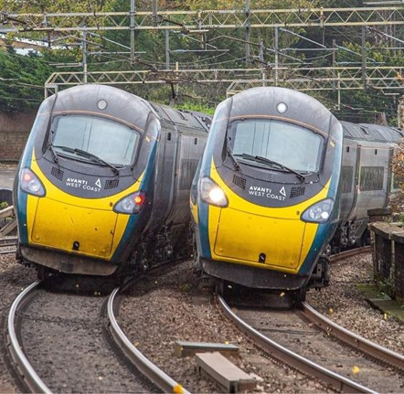 Pendolino - Tilting Pair