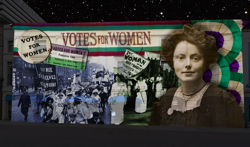 Suffragettes' time to shine in powerful new display: gawthorpe2.jpg