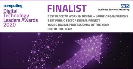NHSBSA Shortlisted for Digital Technology Leaders Award 2020: CTGDLA20-800x418-NHS