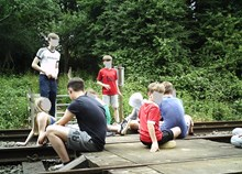 Network Rail and British Transport Police issue further warning in East Midlands as new images show children dicing with death at level crossing 3