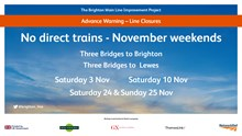 BML Improvements November Closures Poster