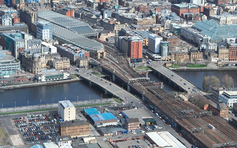 6 Feb Clyde viaduct Aerial 3 side