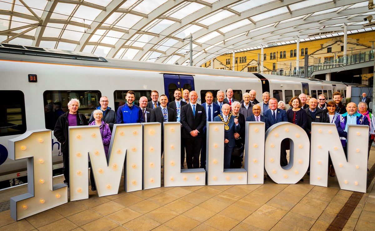 1 million journeys at Victoria