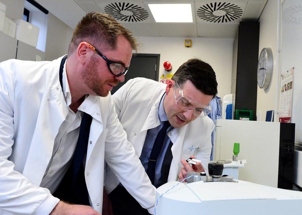 Life-saving brain cancer blood test being developed in Scotland: ClinSpec DX.MR026