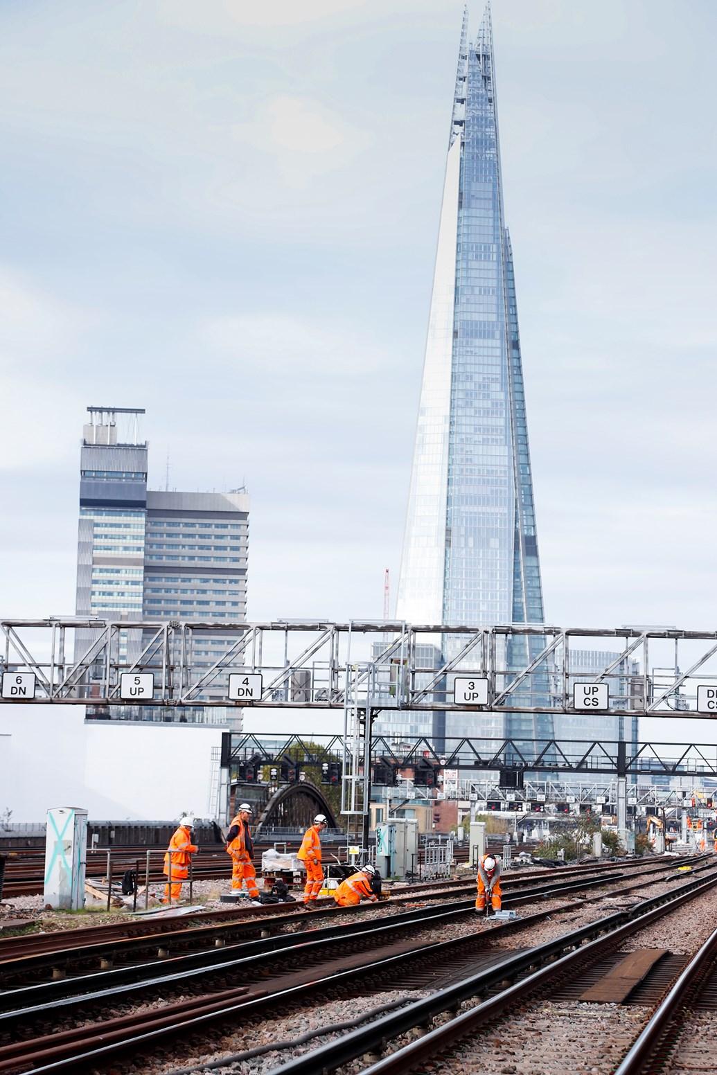 Last few days for passengers to plan their journeys ahead of Network Rail's bumper Christmas investment: LondonBridgeNov