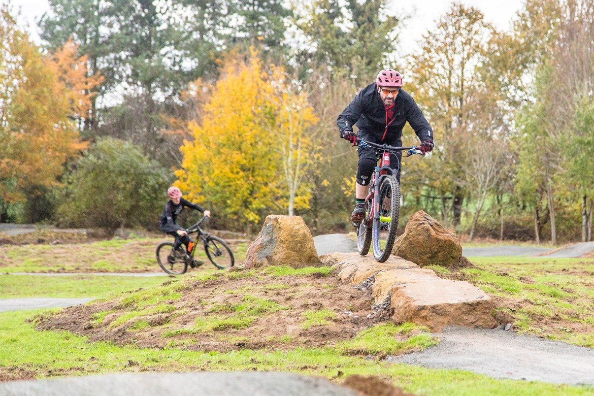 Boddington Parish Council Bike Track: Credit: Boddington Parish Council  Boddington Parish Council Bike Track which received funding from the HS2 Community and Environment Fund  CEF, Community Fund, Community Engagement