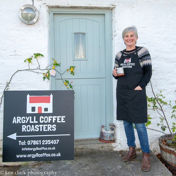 Argyll hosts international event for women entrepreneurs: W-Power - Eve MacFaarlane of Argyll coffee roasters-205