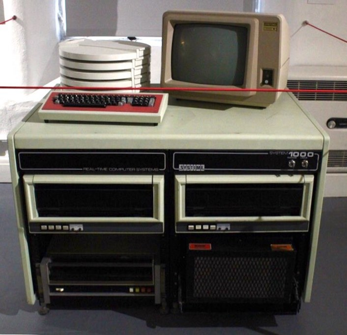Leeds to Innovation online: An old Systime computes, on display as part of Leeds to Innovation at Leeds Industrial Museum