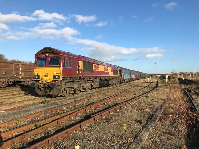 Key railway workers enable 140,000 tonnes of vital food, medicine, fuel and other supplies to be transported across the North East each week: Freight service at Tees Yard