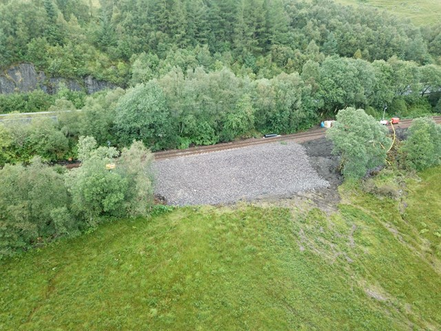 West Highland Line to re-open on Monday: DJI 0945
