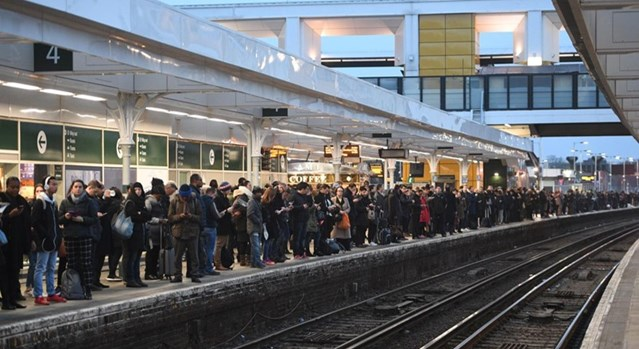 Croydon residents urged to have their say on plans to boost rail reliability and transform East Croydon station: East Croydon platform 4