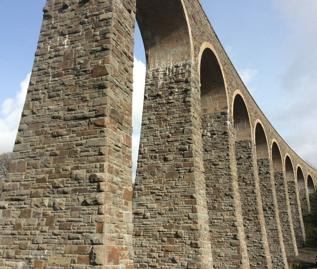 £3.5 million upgrade to 150-year-old Cynghordy Railway Viaduct completed: £3.5m restoration work on Cynghordy Viaduct in Llandovery