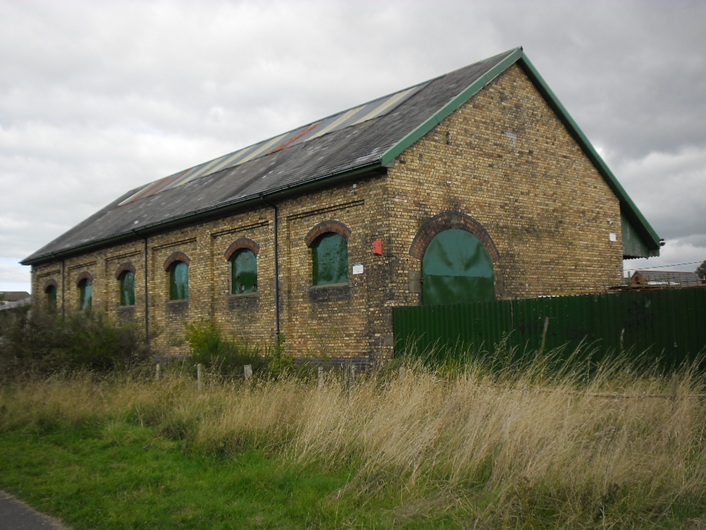 Abersychan goods shed