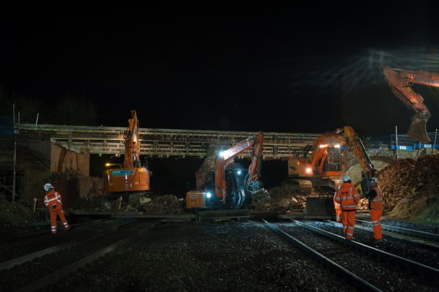 Pytchley Road bridge work due to complete on time: Pytchley Road bridge nears completion